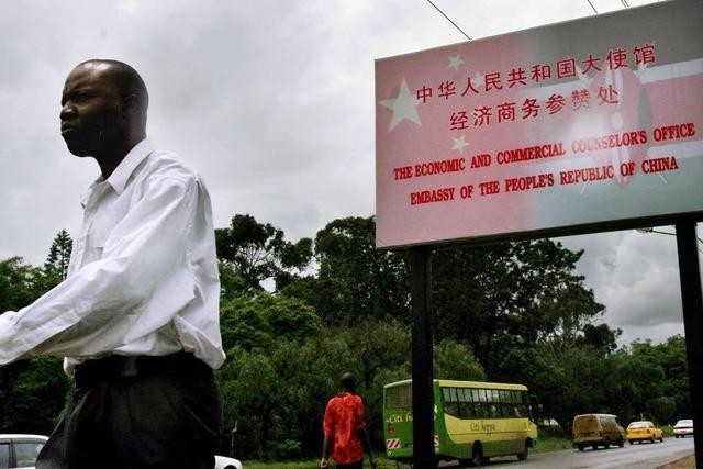 China zeigt in Afrika massive Präsenz