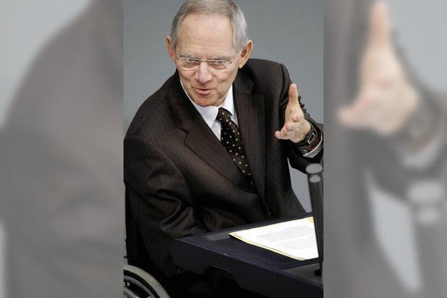 Der Tatendrang des Wolfgang Schäuble