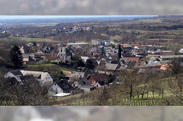 Dorf mit gesunder Struktur