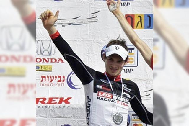 Markus Bauer in Israel in 2010 erstmals auf dem Podium