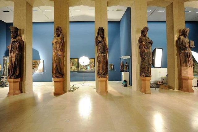 Münsterfiguren in der Skulpturenhalle