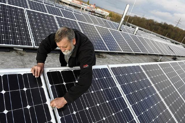 Binzens größte Solaranlage