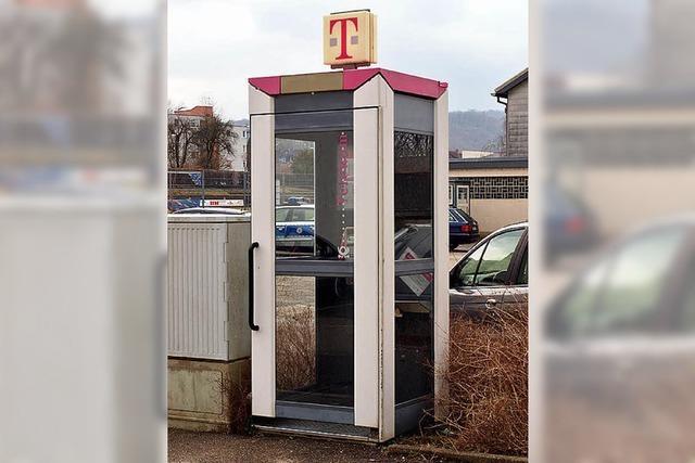 Unrentable Telefonzellen sollen weg
