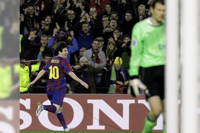 Messi nicht zu stoppen