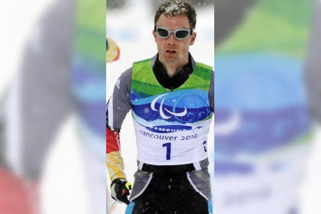 Wilhelm Brem holt Gold im Biathlon