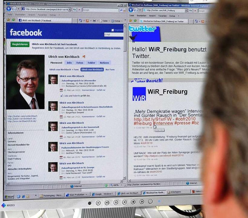 Ulrich von Kirchbach (SPD) bei Facebook.  | Foto: Thomas Kunz