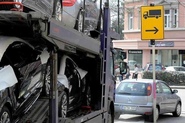 Freiburg: Keine Probleme mit der Brummiumfahrung