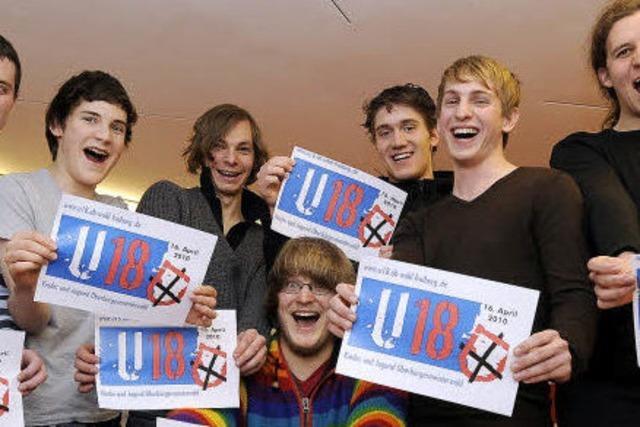 OB-Wahl: Die Jugend macht ihr eigenes Kreuz