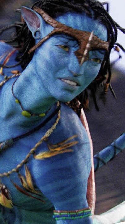 Die schöne Na' vi: Zoe Saldana als Neytiri  | Foto: Promo