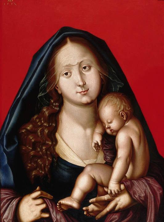 Hans Baldung Grien: Madonna, 1520  | Foto: hans-peter vieser
