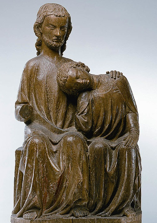 Christus und Johannes, um 1320/30  | Foto: hans-peter vieser