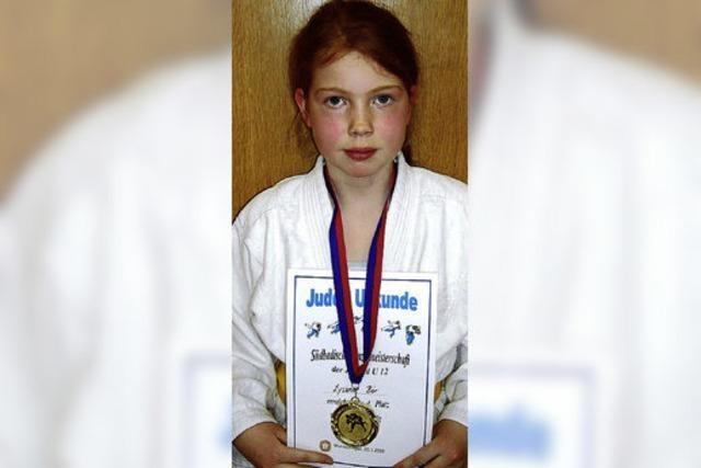 Südbadische Judo-Meisterin