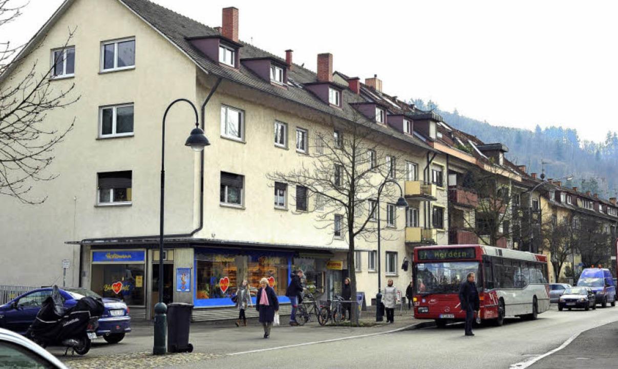 Heute ist an der Urbanstraße kein frei... 27 das Stadtteilzentrum von Herdern.   | Foto: Thomas Kunz