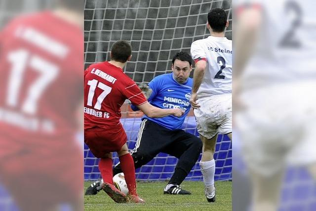 FC Steinen mit Galgenhumor