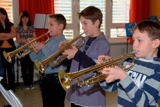 Nachwuchsmusiker zeigen Leistung