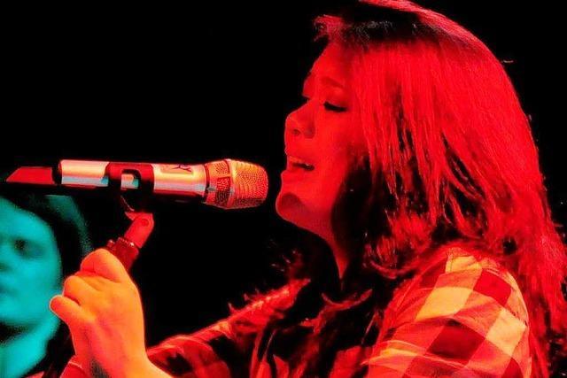 Linda Tang singt beim Bundeswettbewerb