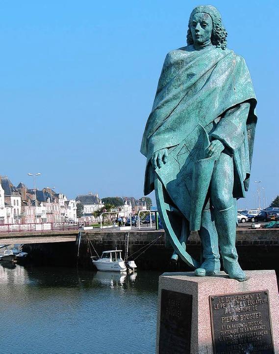 Nach  Le Croisic (mit dem Denkmal für ...s heute für ein Dutzend Laufenburger.   | Foto: BZ-ARCHIV