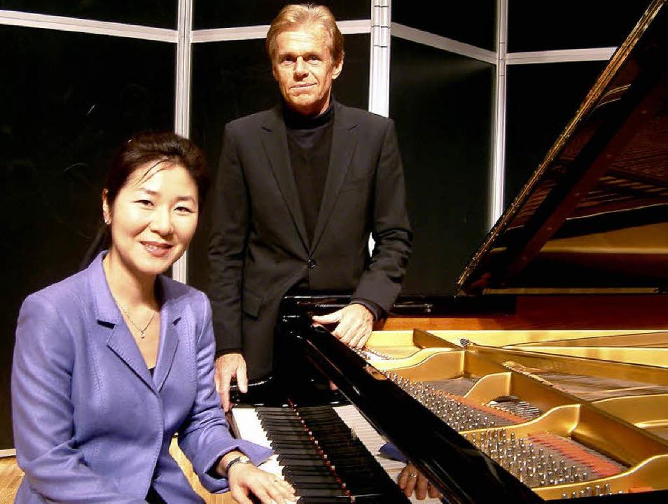Einen musikalisch-literarischen Chopin...erner Wüst in der Schlosskonzertreihe.  | Foto: roswitha frey