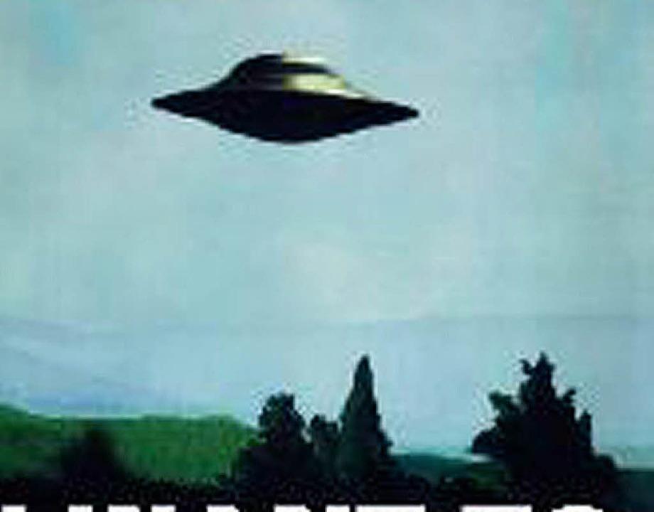 Kein Zweifel, ein Ufo. Oder doch nicht?  | Foto: Verwendung nur in Deutschland, usage Germany only