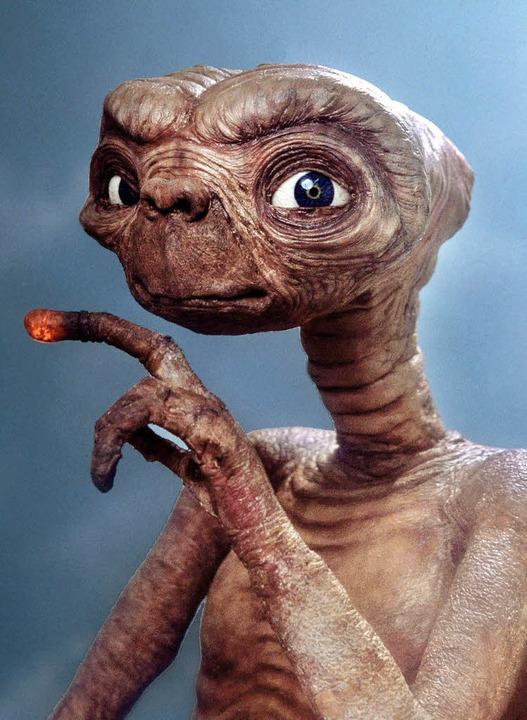 Putzig, dieser Regenwurm mit menschlic...dische in Stephen Spielbergs Film E.T.  | Foto: image/dpa/ard/Bz