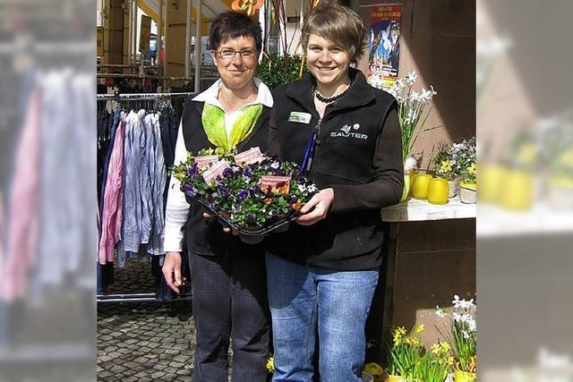 Blumen von den Einzelhändlern