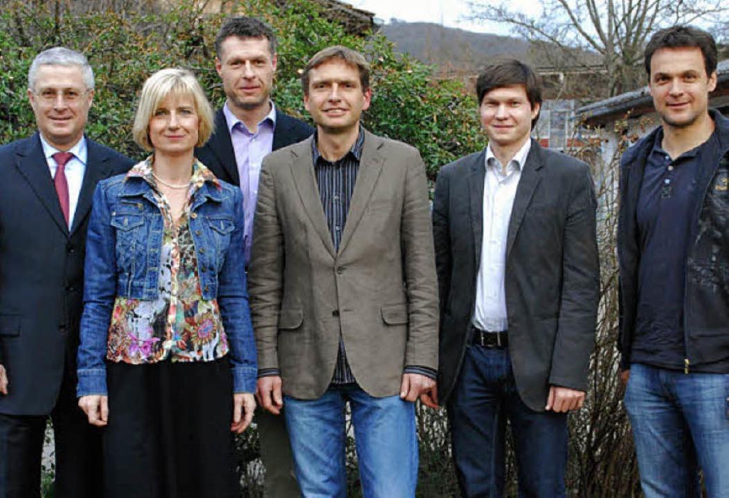 Die Teilnehmer der Podiumsdiskussion   | Foto: Mink