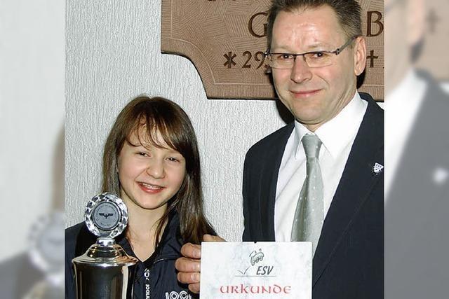 Sportehrenpreis für Lilli Eise