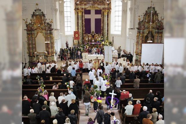 Peterskirche erstrahlt in neuem Glanz