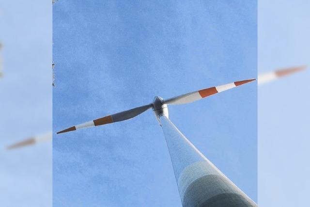 Aktionskünstler schätzt Ästhetik der Windräder