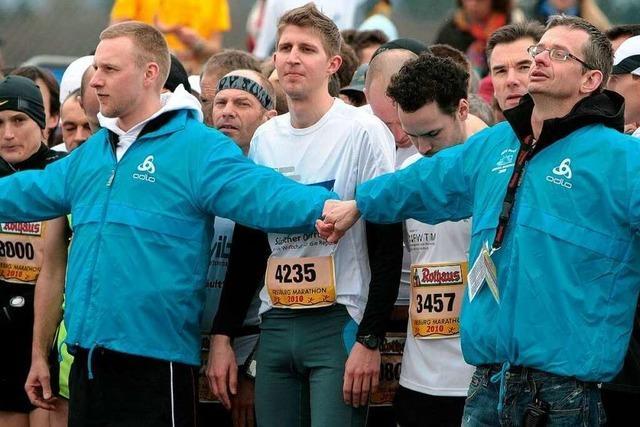 Fotos vom Freiburg-Marathon 2010: Start Halbmarathon