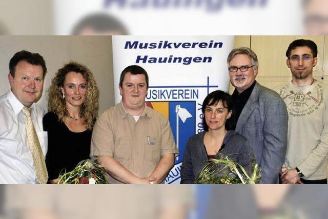 Führungswechsel beim Musikverein Hauingen