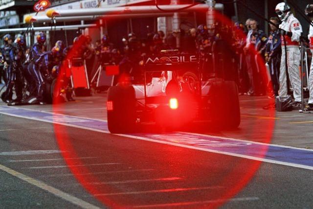 Vettel jäh gestoppt