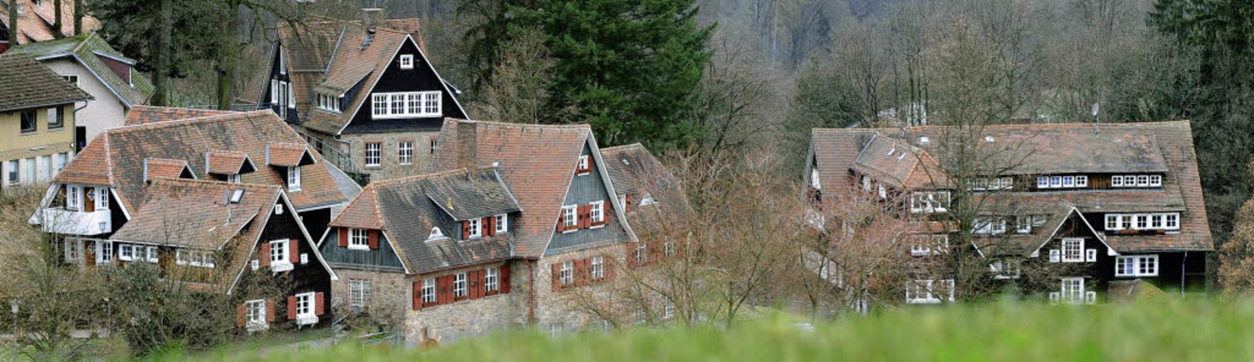 Fernab der Welt und ein Dorf für sich:...ldschule  im südhessischen Heppenheim   | Foto: DPA