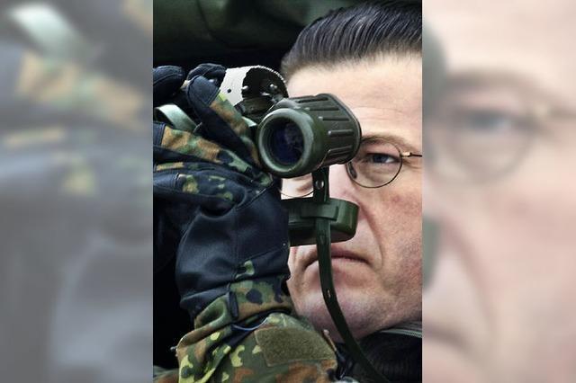 zu Guttenberg: Ein reichlich forscher Minister