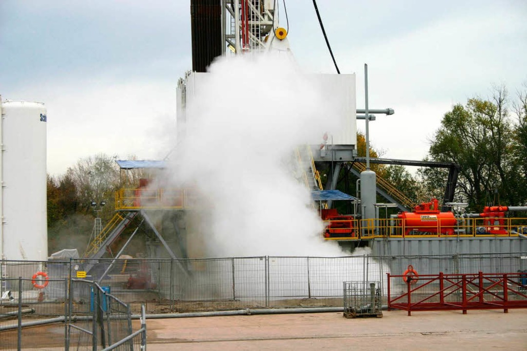 Auch mit der Geothermieanlage in Landa...ermieprojekt nicht direkt vergleichen.  | Foto: ZVG
