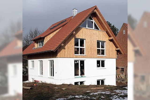 Kohle fürs Holzhaus