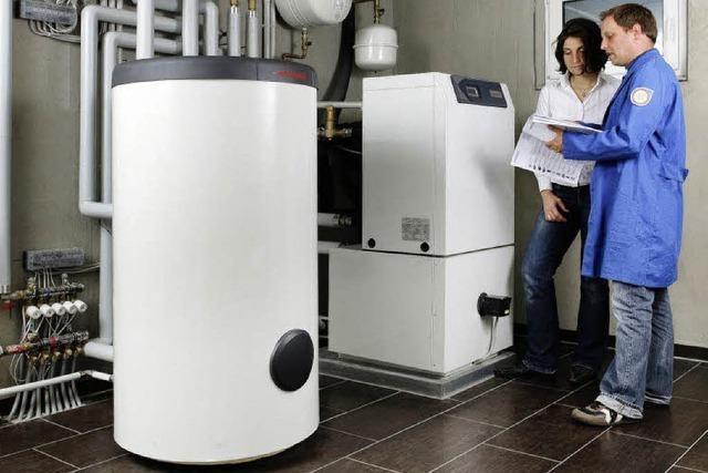 Wärmepumpe nutzt erneuerbare Energien
