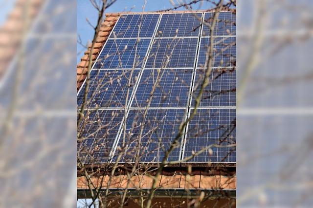 Selbst genutzte Sonnenenergie