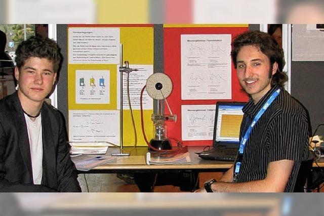 Erfolg für junge Forscher am Kenzinger Gymnasium
