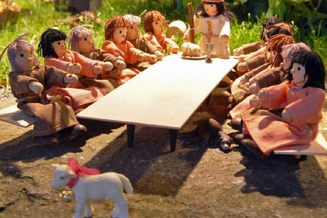 Ostergeschichte anschaulich in Szene gesetzt
