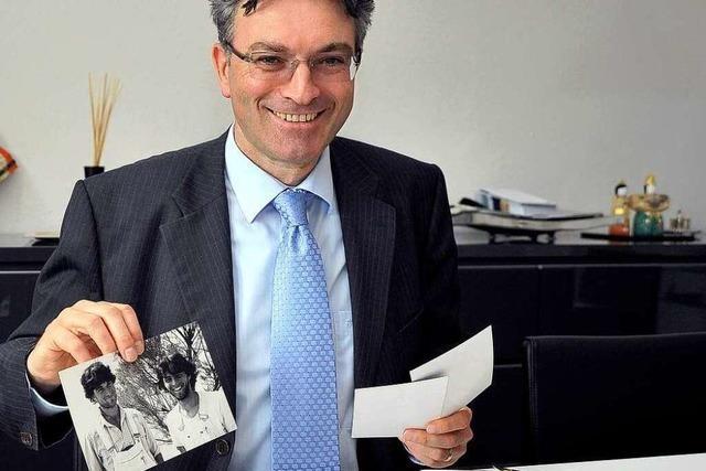 Dieter Salomon gewährt Einblicke ins Fotoalbum
