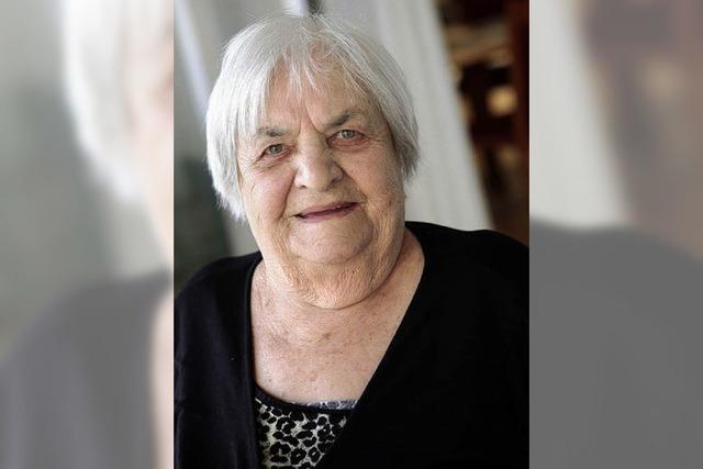 Geselligkeit liebt die 90-Jährige über alles