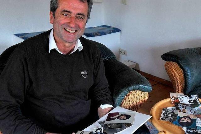 Günter Rausch gewährt Einblicke ins Fotoalbum