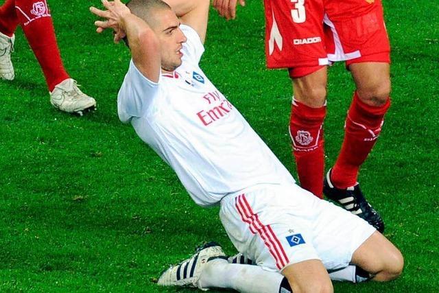 HSV mit glücklichem 2:1 zum Rückspiel nach Lüttich