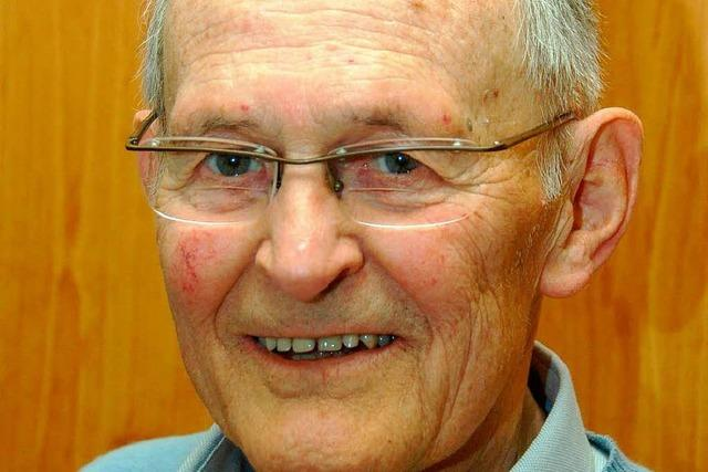 Klaus Kremling wird 80 Jahre alt