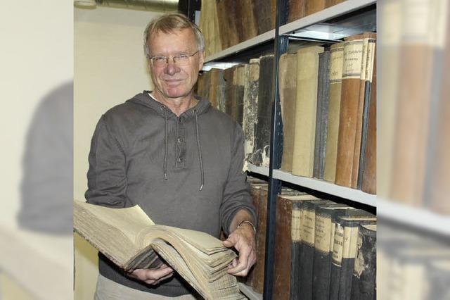 Archivar Thomas Steffens: Pfleger der Ortsgeschichten