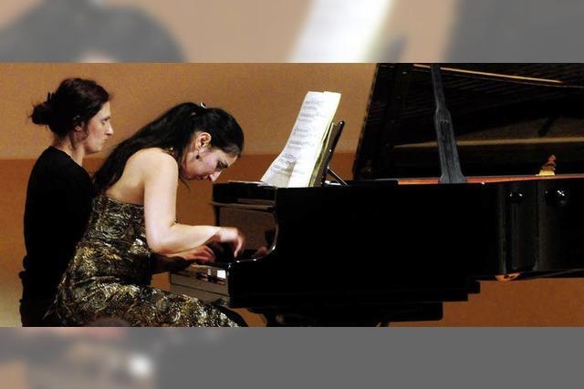 Pianistisches Gewitter