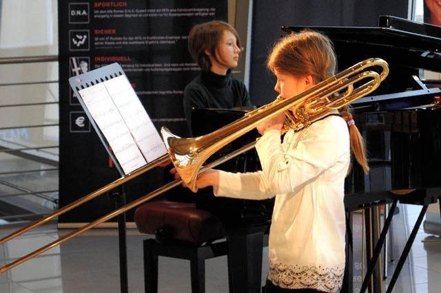 19 junge Musikschul-Künstler nehmen Klassik-CD auf