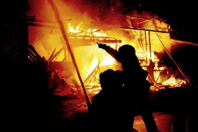 Drei Brände – hat da jemand gezündelt?