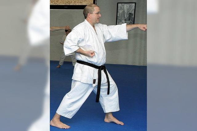 Bewegung im Karate Dojo